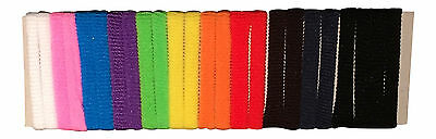 Job Lot 63 x Pack of 24 Mixed Colours Girls Teen Kids Elastic Hair Bands Bobbles