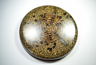 Orgone Positive Energy Device - Lemurain Charging Plate Large