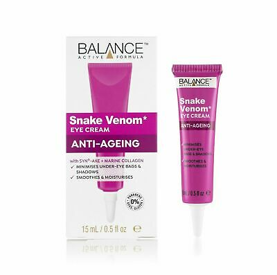 BALANCE ACTIVE FORMULA SNAKE VENOM EYE CREAM 15 ML Low price & free postage