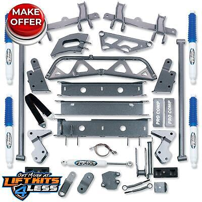 Pro Comp K1044B 6'' Suspension Lift Kit 1993-1999 Chevrolet/GMC K2500 Suburban