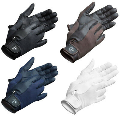 LeMieux PRO TOUCH Performance Riding GLOVES Soft Feel Goats Leather All Colours