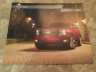 2016 Chevy Tahoe 28-page Original Sales Brochure