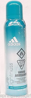 1 Adidas PURE LIGHTNESS Body Spray Deodorant For Women