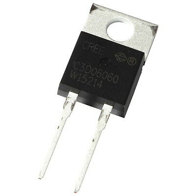 Cree C3D06060A SiC-Diode 9A 600V Silicon Carbide Schottky Diode TO220AC 855425
