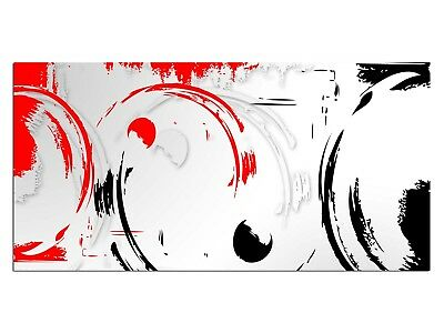 HD Glasbild EG4100501624 CLEAN DESIGN ROT 100 x 50 cm Wandbild ABSTRAKT