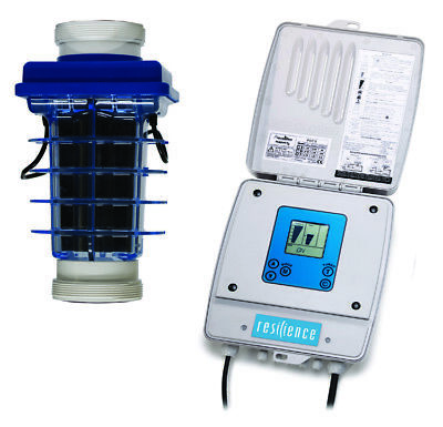Resilience Natural Chlorine Generators for spas and pools with up to 40,000 Gal.