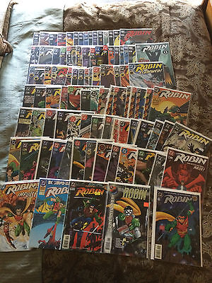 DC ROBIN Vol. 4 1993  (97 Comics) various issues from 0 12 through 163 and more