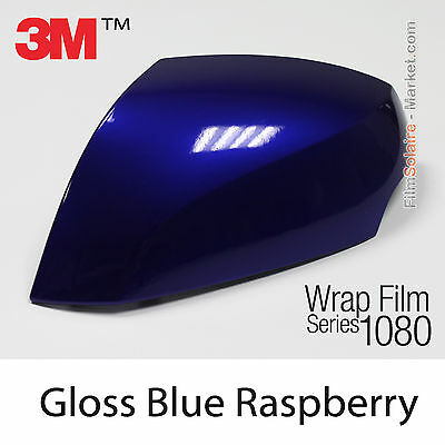40x152cm FILM Gloss Blue Raspberry 3M 1080 G378 Vinyle COVERING Series Wrapping
