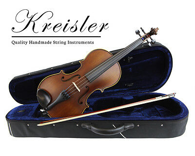"Kreisler #120 Beginner 15.5"" Size Viola Outfit with Bow, Case, Rosin & ProSetup"