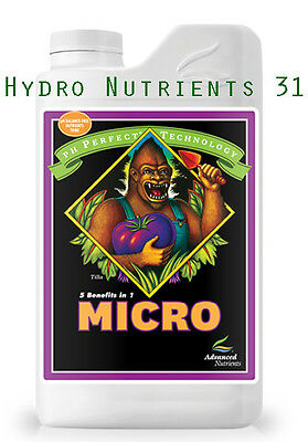 Hydroponic Nutrients Advanced Nutrients pH Perfect® Micro 4Lt