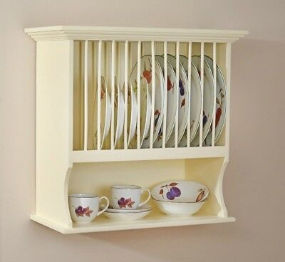 Country Kitchen Plate Rack Holder \u0026 Dish Cup Bowl Shelf Unit Wall Mounted NEW  sc 1 st  PicClick UK & COUNTRY KITCHEN PLATE Rack Holder \u0026 Dish Cup Bowl Shelf Unit Wall ...