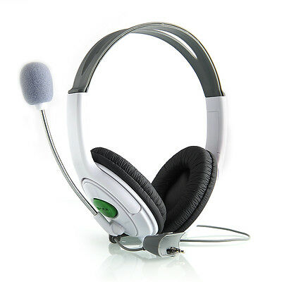 Live Big Headset Headphone With Microphone for XBOX 360 Xbox360 Slim NEW GT