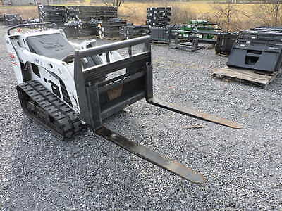 "New 36"" CID Xtreme Mini Skid Steer Pallet Forks For Bobcat MT50 MT52 MT55 463 !!"