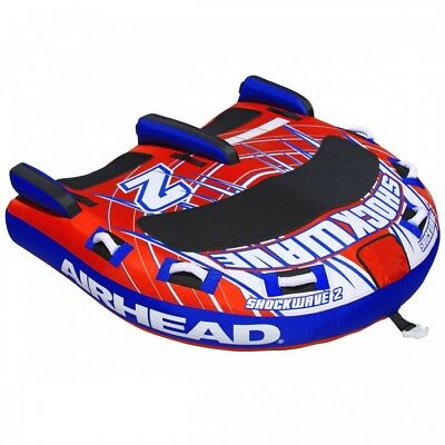AIRHEAD SHOCKWAVE 2 - 2 PERSON Inflatable Tow Tube