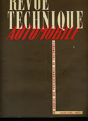 (C16) Revue Technique Automobile Ford Canada / Autocars Floirat
