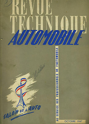 (C16) REVUE TECHNIQUE AUTOMOBILE HOTCHKISS 680 et 686 / SALON 1947