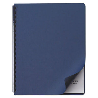 "Binding Syst Cover, Textured, 11-1/4""x8-3/4"",200/BX, Navy SWI2000513"