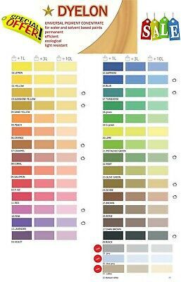 Paint Dye Pigment Wall Interior Exterior Painting Extra 20% Off  Dyelon