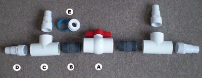 Diverter Valve for Sunquest Solar Swimming Pool Heating Panels