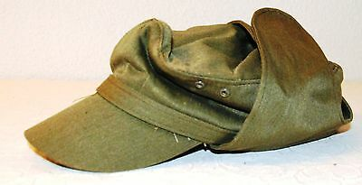 X1166 - Army Cap  East Germany GDR NVA National People's Army vintage 1960's/ 19