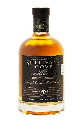 Sullivans Cove Single Cask American Oak  Whisky 700ml