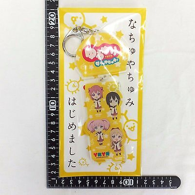 IM YuruYuri Nachuyachumi Acrylic Key Holder Japan Anime