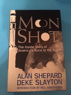 Moon Shot : First Edition Autographed Signed By Alan Shepard Mint Brand New