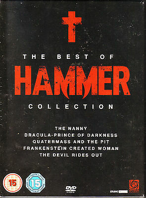 The Best Of Hammer. 5 DVD Horror Box. New In Shrink!