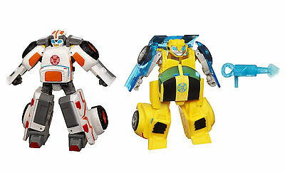 Medix + Bumblebee Playskool Heroes Transformers Rescue Bots Ambulance Sport Car