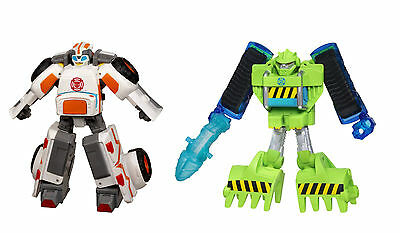 Medix + Boulder Playskool Heroes Transformers Rescue Bots Ambulance Caterpillar