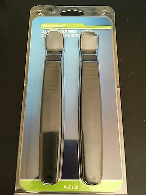 Monarch 2 Pack Plastic Label Scrapers 925130 - NEW in Retail Packaging