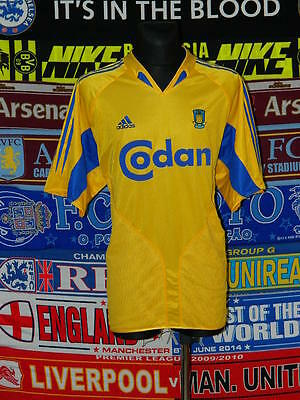 5/5 Brøndby IF adults XXL 2004 mint football shirt jersey trikot soccer