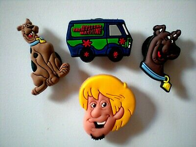 Clog Shoe Charm Plug Button Accessories Bracelet Sandal 4 Scooby Doo Gang