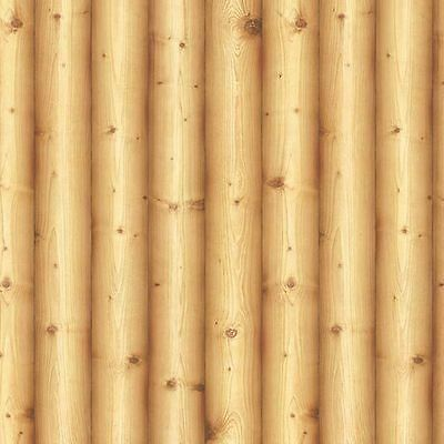 Log Wood Effect Self Adhesive WallpaperVinyl Roll Cabin Home Depot Contact Paper