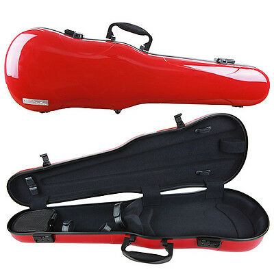 GEWA Air 1.7 Shaped Violin Case for 4/4 Full Size Violin Red Gloss