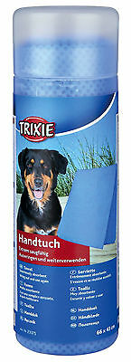 Highly Absorbent Blue Pet Towel Dog Cat PVA Wring Dry Towel 66cm x 43cm
