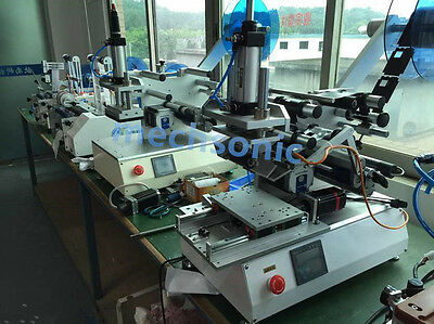 curved bottle Labeling Machine Label Machine for transparent label  GB