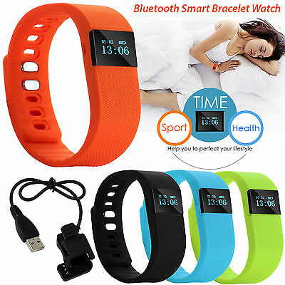 TW64 Bluetooth Smart Bracelet Wristband Step Calorie Counter Tracker Pedometer