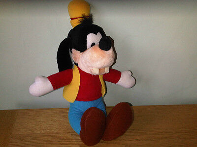 Mickey Mouse Club House Collectable Goofy Walt Disney Soft Toy Teddy - 1989