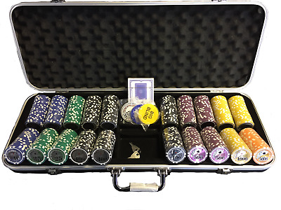 500 Piece Poker Chip Set