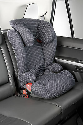 'Kidfix' Isofix Child Kids Booster Seat Group 2-3 15-36kg Adjustable Headrest
