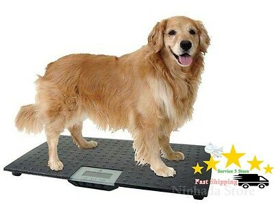 NEW Large Digital Electronic Scales Veterinary Weight Pet Dog Cat Animal,28 inch