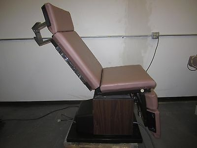 Ritter Midmark IE Industries Power Procedure Exam Table Chair