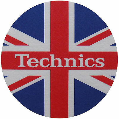 Slipmats Technics UK Flag / Union Jack (1 Stück / 1 Piece) NEU+OVP!