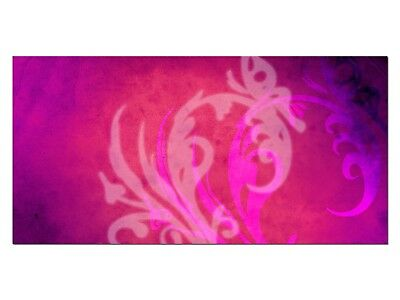 HD Glasbild EG4100501135 TRIBAL ABSTRAKT PINK 100 x 50 cm Wandbild DESIGN