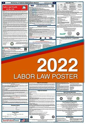 2019 Kentucky State and Federal Labor Law Poster (PAPER)