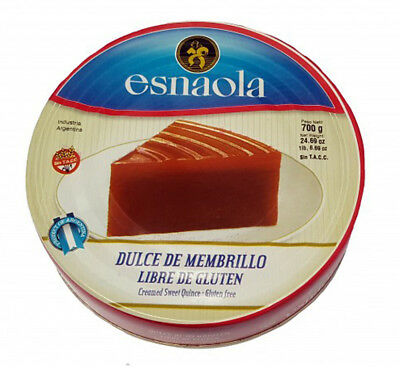 esnaola Dulce De Membrillo Quince Paste/Jam 700g from Argentina