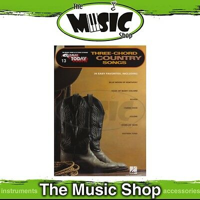 New EZ Play #13 Three Chord Country Songs Piano Music Book - Easy Play E-Z
