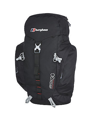 Berghaus Arrow 30 Rucksack Black/Extrem Red NEW