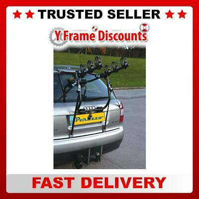 Peruzzo Cruiser Delux Car 3 Bike Rear Mounted Rack Cycle Carrier Per500 Black